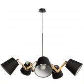 Подвесная люстра Arte Lamp Pinoccio A5700LM-5BK