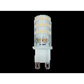 PLED-G9  5w  2700K 320Lm 175-240V (пластик d16*50мм) Jazzway