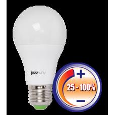 Cветодиодная лампа PLED- DIM A60  10w 4000K 840 Lm E27230/50  Jazzway