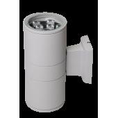 Светодиодный светильник PWL-245110/24D  2x9w  6500K  GR  230V/50Hz   Jazzway