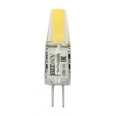 PLED-G4 COB  2.5w 200Lm 3000K12В (силикон 10*39мм) (LED dri Jazzway 2855749