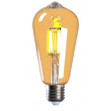 Cветодиодная лампа PLED ST64 GOLD 4w 2700Lm 360Lm E27 Jazzway 2856937