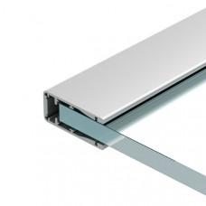 Алюминиевый профиль ALU-HANDRAIL-2000 FOR GLASS 17.5