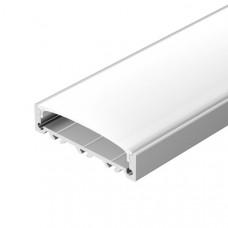 Профиль с экраном ALU-SUPER-H10-2000 ANOD+FROST(ARL, Металл)