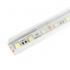 Алюминиевый профиль 16*12мм, L=2м в компл. с прозрачным экраном и аксессуарами (LR38-Т) Led-Crystal LR38-T