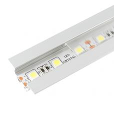 Алюминиевый профиль 30*11мм, L=2м в компл. с прозрачным экраном и аксессуарами  (LR41-Т) Led-Crystal LR41-Т