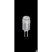 Светодиодная лампа PLED-G4  1.5w  3000K 1220 12В AC/DC  Jazzway