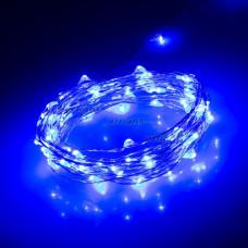 Светодиодная нить WR-5000-12V-Blue (1608, 100LED) Arlight 017995
