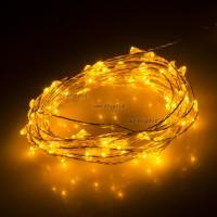 Светодиодная нить WR-5000-12V-Yellow (1608,100LED)