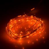 Светодиодная нить WR-5000-12V-Orange (1608,100LED)