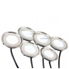 Набор KT-R-6x0.5W LED White 12V (круг)  Arlight 018239