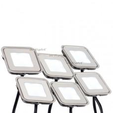 Набор KT-S-6x0.6W LED White 12V (квадрат) Arlight 018232