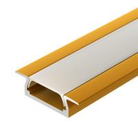 Алюминиевый профиль MIC-F-2000 ANOD Gold Deep