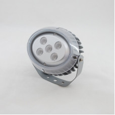 Светодиодный прожектор MS-OP5L AC220V 15W IP65 угол 30° (Желтый)-1094lm