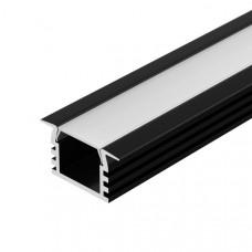 Алюминиевый профиль PDS-F-2000 ANOD Black