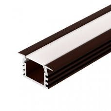 Алюминиевый профиль PDS-F-2000 ANOD Brown Deep