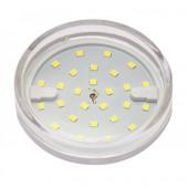 Светодиодная лампа PLED- ECO-GX53  6w  3000K CLEAR 510Lm Jazzway