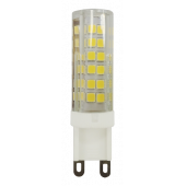 PLED-G9  9w  2700K 590Lm 175-240V (пластик d16*60мм) Jazzway
