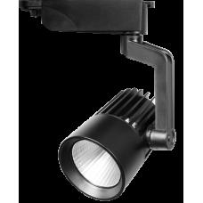 Светодиодный трековый светильник PTR 0125-2 25w 4000K 24° BL (чёрный) IP40 Jazzway