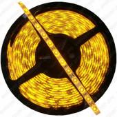 Светодиодная лента SMD 3528/ 60 Yellow IP65 (5м) желтый цвет свечения