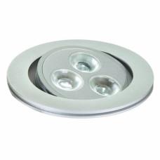 Светильник светодиодный LBE-070 поворотный 9Вт, белый теплый