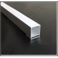 Алюминиевый профиль в компл, с  мат. экран, размеры 36*39мм, L=2М,  алюмин. LR61
