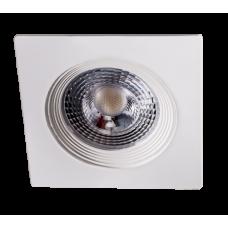 PSP-SF  9039 7W 4000K 38° квадр/неповор White  IP40 Jazzway