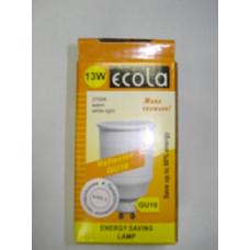 Лампа Ecola GU10 13W (тёплый белый)