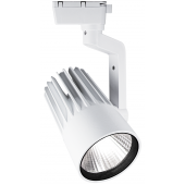 Светодиодный трековый светильник PTR 0125-2 25w 4000K 24° WH (белый) IP40 Jazzway