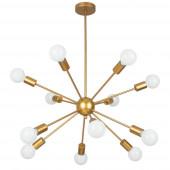 Подвесная люстра Arte Lamp Alastor A6702PL-12PB