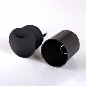 Встраиваемый светодиодный светильник Elektrostandard MRL LED 1104 черный 4690389091582