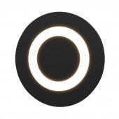 Встраиваемый светодиодный светильник Elektrostandard MRL LED 1107 черный 4690389098130
