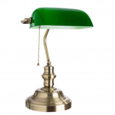 Настольная лампа Arte Lamp Banker A2492LT-1AB Arte Lamp A2492LT-1AB