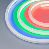 Герметичная лента AQUA-5000S-TOP-5060-72-24V RGB (16.5х16.5mm, 13W, IP68)