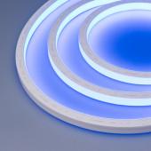 Герметичная лента AQUA-5000S-TOP-2835-120-24V Blue (16.5х16.5mm, 10W, IP68)