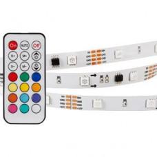 Светодиодная лента SPI-5000-IR21B 12V RGB (5060,150 LED x3,1804, ПДУ) Arlight 020978