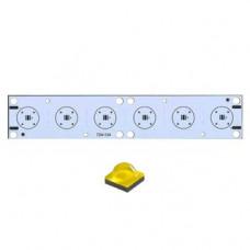Плата 160x30-6XP CREE (6x LED, 724-134)