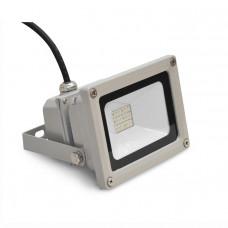Светодиодный прожектор DL-NS20 DC24V 18LED 10W IP65 (RGB) (С-06-R)