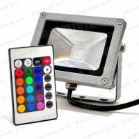 Подключение светодиодных многоцветных (RGB) прожекторов