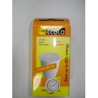 Лампа Ecola GU5,3 11W (тёплый белый)