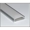 Алюминиевый профиль в компл, с мат. экран, размер 24*6мм, L=2М, алюмин. LR42-M