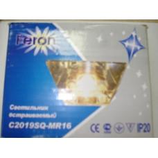 C2019SQ прозрачный светильник со стеклом под галогенную лампу MR-16 Feron