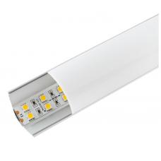 Профиль угловой в компл, с мат. экран, размер 30*30мм, L=2М, алюмин. LR55-M