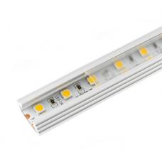 Алюминиевый профиль 30*11мм, L=2м в компл. с прозрачным экраном и аксессуарами  (LR40-Т)