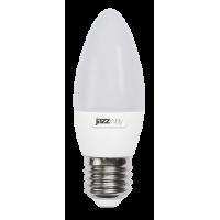 Светодиодная лампа PLED-SP C37  7w 3000K E27  530Lm 230/50  Jazzway