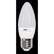 Cветодиодная лампа PLED- ECO-C37 5w E27 4000K 400Lm 230V/50Hz  Jazzway