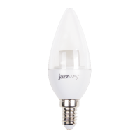 Cветодиодная лампа PLED- SP CLEAR C37 7w CL 3000K 540 Lm E14 Jazzway