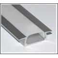 Алюминиевый профиль в компл, с  прозр. экран, размер 22*6мм, L=2М,  алюмин. LR37-Т