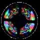 Многоцветная светодиодная лента бегущий огонь (SPI, DMX)