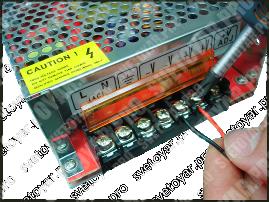 Схема подключения блока питания для светодиодной ленты